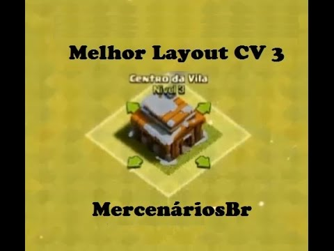 clash of clans melhor layout para cv 3 e defesas mercenriosbr - Layout Cv 4 Clash Of Clans