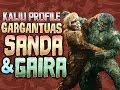 Sanda & Gaira |KAIJU PROFILE 【wikizilla.org】