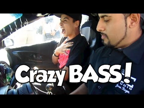 Worlds CRAZIEST Car  BASS DEMO EVER