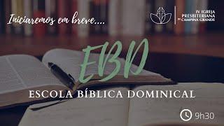 EBD Jesus, o nosso justificador - Felipe Medeiros 27/12/2020