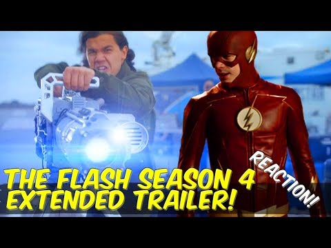 The Flash Season 4 Extended Trailer REACTION! Highlights + Discussion! Lets Talk!