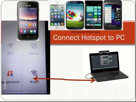 How to connect Hotspot to your PC Using cheap data plan