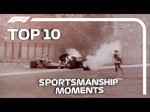 Top 10 Moments of Sportsmanship in Formula 1