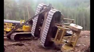 Construction Equipment Fail - Runaway crane!