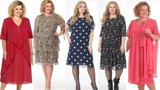 Легкие шифоновые платья для женщин 50 Белорусские женские платья