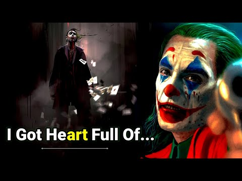 Joker Quotes About LOVE Failure 💔 || Life Changing Quotes | Joker Quotes | Powerful Quotes