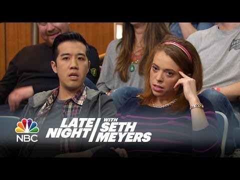 Audience Marriage Proposal - Late Night with Seth Meyers