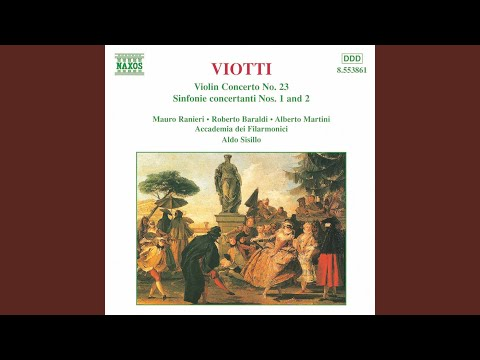 Violin Concerto No. 23 in G Major, G. 98: I. Allegro