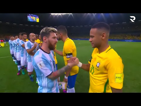 The Day Neymar Jr Destroyed Argentina \u0026 Made Messi Angry