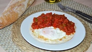 Mexican Ranch-style Eggs (huevos Rancheros) - Easy Huevos Rancheros Recipe