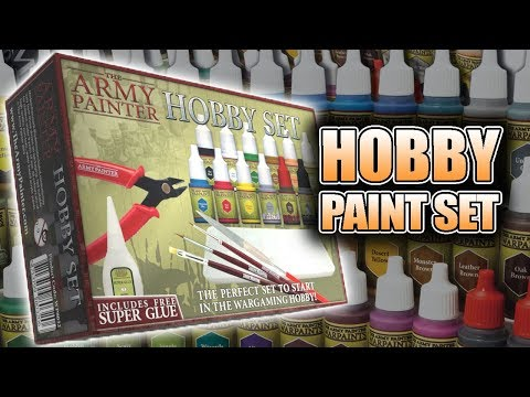 How To Use Army Painter Hobby Set: Tutorial & Review