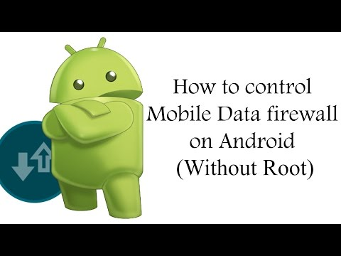 How To Control Mobile Data Firewall On Android ✔