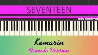 Seventeen - Kemarin FEMALE (Karaoke Acoustic) by regis