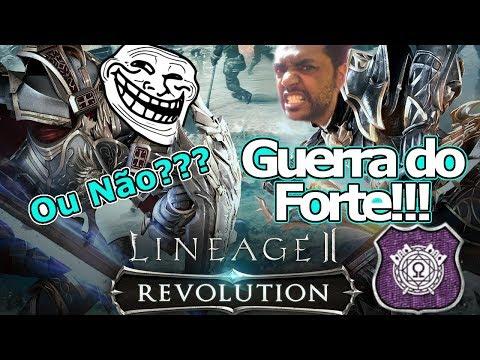 Lineage 2 Revolution: Guerra do Forte! A primeira do Server BR Troll? Omega Play