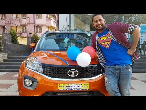 Taking the delivery of my new Tata Nexon! An Experience of Lifetime..!
