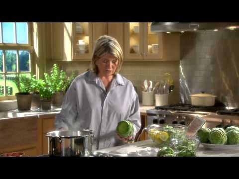 Thumbnail: Preparing Artichokes - Martha Stewart's Cooking School