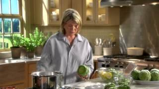 Preparing Artichokes - Martha Stewart's Cooking School