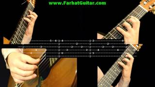 Cavatina - John Williams- Stanley Myers - Tab 1/6 www.FarhatGuitar.com