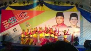 pertandingan tarian sekolah menengah negeri pulau pinang 2012 tarian etnik smk bukit jambul