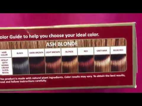 Henna Cream Haircolor Youtube