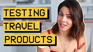 Trying Travel Products