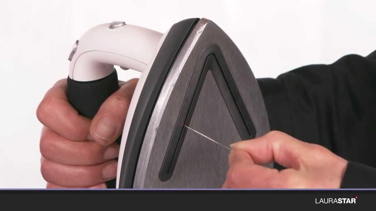 laurastar - come si puliscono la piastra e i fori d'uscita del