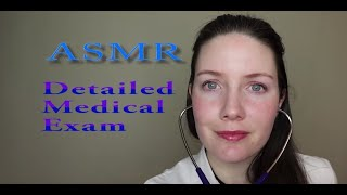 [ASMR] Detailed Medical Examination {Whispered}