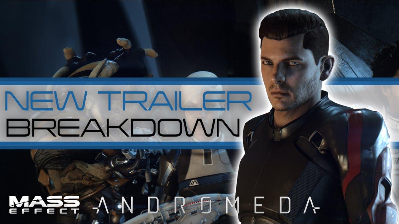 Mass Effect Andromeda New Cinematic Trailer Breakdown