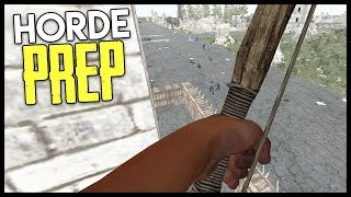 Preparing for the HORDE! - 7 Days to Die Gameplay : Part 14