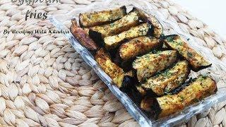Eggplant Fries - Aubergine Frietjes