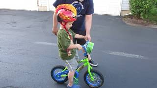 Learning to ride Bike without Training wheels