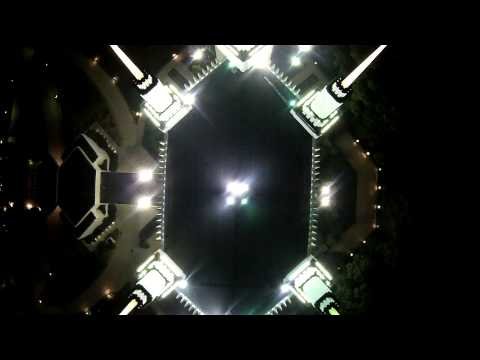 Drone flight over - The Church of JESUS CHRIST of Latter-Day Saints Temple in Washington DC