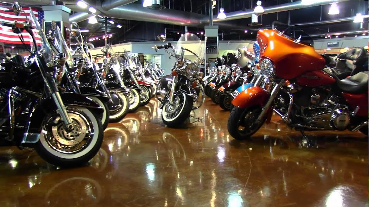harley davidson motorcycle dealer - palm harbor, fl usa - youtube