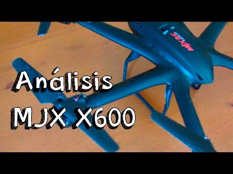 ANALISIS DRONE MJX X600 EN ESPAÑOL: Hexacopter barato calidad precio