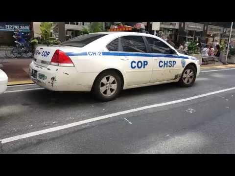 Crown Heights Safety Patrol Car Parked In Midtown, Manhattan