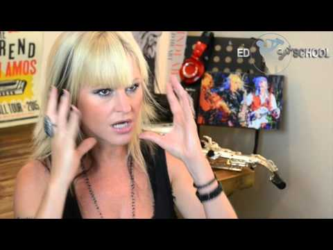 Mindi Abair Interview with Ed Sax School - Part 1 /6