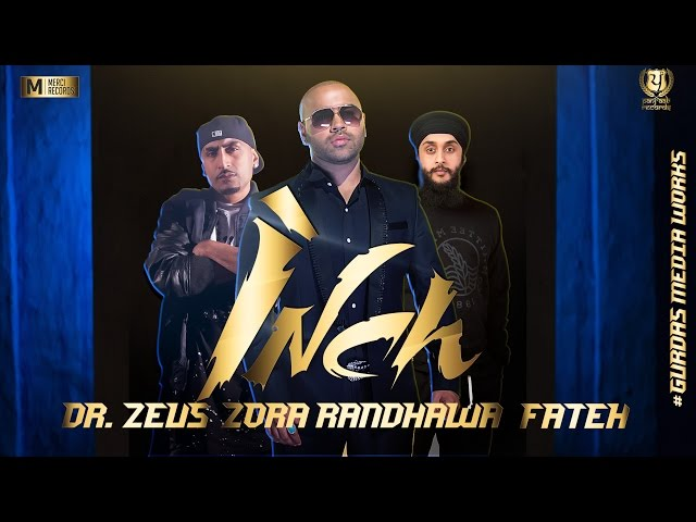 INCH - Official Teaser || Zora Randhawa Feat. Fateh & Dr. Zeus || Panj-aab Records