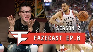FROM UNDRAFTED TO THE NBA - #FaZeCast S2E6 feat. Fred Van Vleet