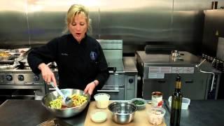 Baked Ziti With Shrimp & Chicken Recipe : Full Meal Recipes