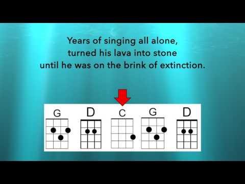 Someone to Lava (Key of G) - Uke Chord Guide