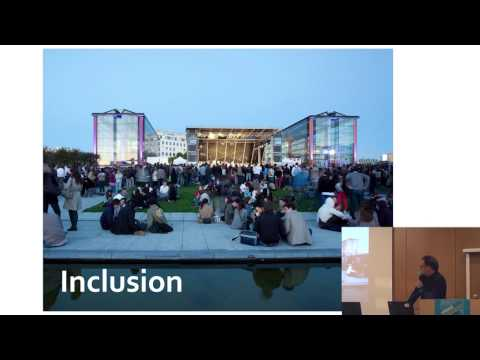 Olivier RICHARD : About the new stakes and new ways of thinking public space