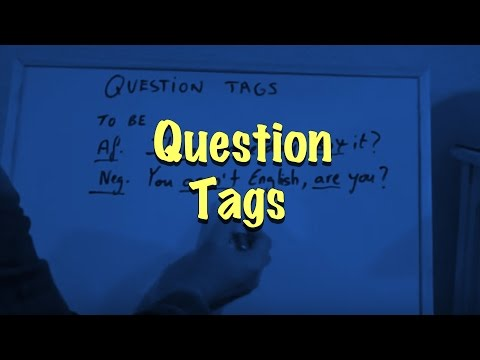 INGLÉS. 54- Question Tags. Inglés para hablantes de español. Tutorial