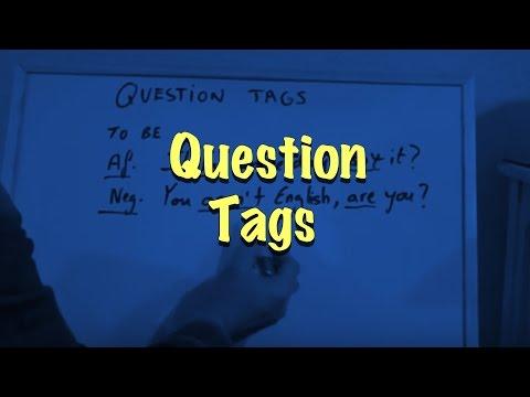 INGLÉS. 54- Question Tags. Inglés para hablantes de español. Tutorial