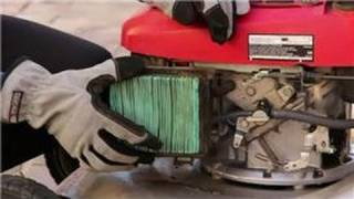Maintenance for Lawn Care Tools : How to Replace an Air Filter on a Lawn Mower