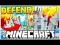 BRAND NEW REALISTIC MINECRAFT MODDED MODERN BASE DEFENSE - OP WEAPONS AND TECH MOD