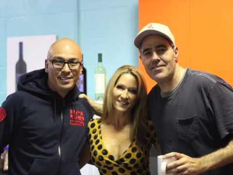 Adam Carolla with Jo Koy: