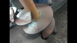 Гибка шнеков в Словакии. Отзыв заказчика. Screw bending. Auger Flight Forming Machine
