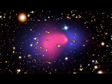 Supercomputer simulation of a collision between two galaxy clusters