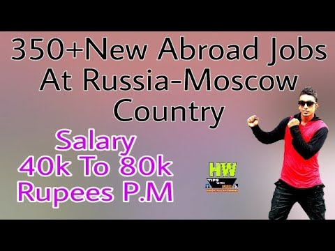 Russia-Moscow Country, New Jobs Apply Soon