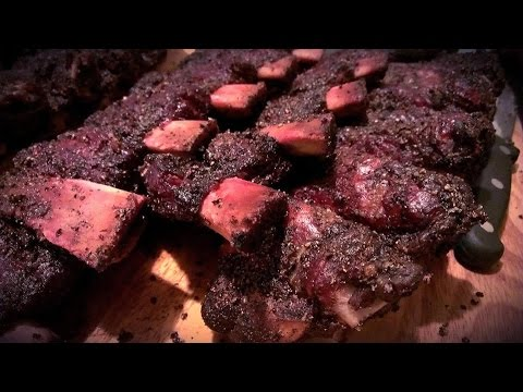 Texas Style Beef Ribs - Smoked BBQ Beef Ribs by elrabbitsbbq